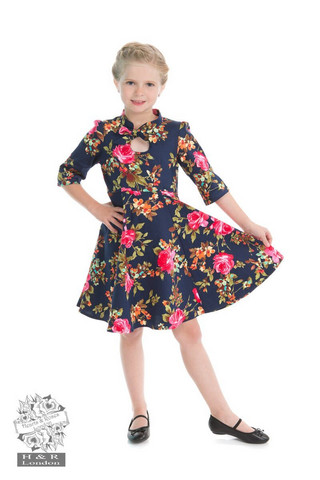 Autumn Afternoon Kids Dress, lasten kellomekko