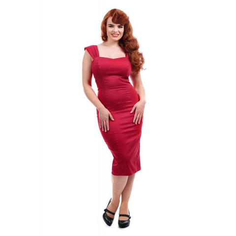 Jill Plain Pencil Dress