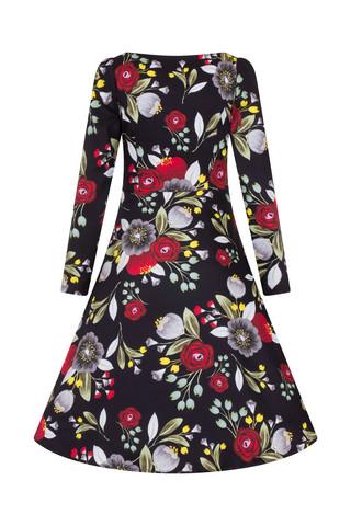 Autumn London Tea Dress