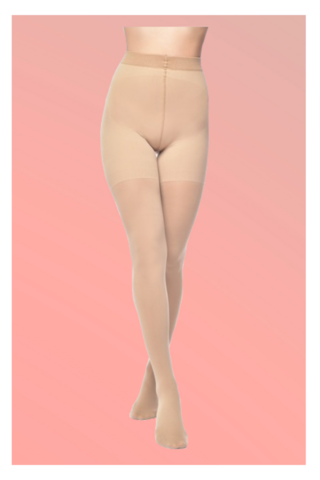 60 Denier Bum, Tum & Thigh Support Tights Nude