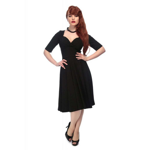 Trixie Doll Dress Black