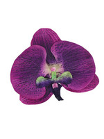 Isadora Orchid Hair Flower