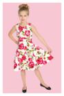 Sweet Rose Swing Dress in Kids, lasten ruusumekko