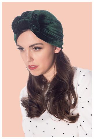 Hera Turban, tumman vihreä turbaani