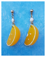 Orange Slices Earrings, appelsiinikorvakorut
