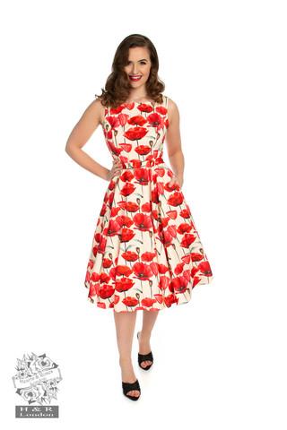 Sweet Poppy Swing Dress, Kellomekko,