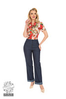 Debbie Denim Trousers, housut
