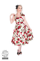 Ditsy Rose Floral Summer Dress