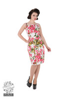 Pink Maureen Floral Wiggle Dress