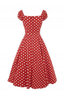 Dolores Doll Dress Red