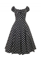 Dolores Doll Dress Black