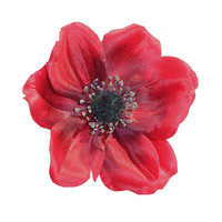 Sophia Single Anemone Hair Flower
