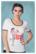 Diner T-shirt, puuvillainen T-paita