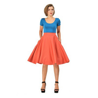 Shirley High Waist Circle Skirt, kellohame