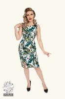 Felicity Floral Wiggle Dress, kynämekko