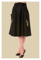 Peacock Skirt, musta hame