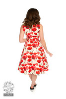 Sweet Poppy Swing Dress, Kellomekko,