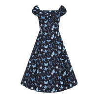 Dolores Midnight Butterfly Doll Dress, kellomekko