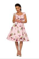 The Royal Ballet Tea Dress in Pink, kellomekko