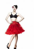 5028 Petticoat short, red