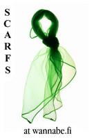 Chiffon scarf, kellygrn