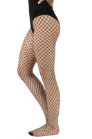 Fishnet tights, small pattern