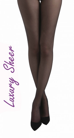 15 den sheer tights, blk