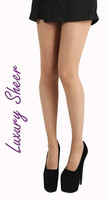 15 den sheer tights, tan