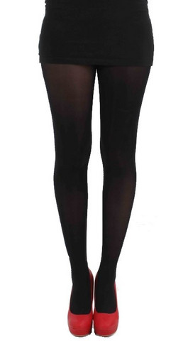 40 den velvet tights, blk