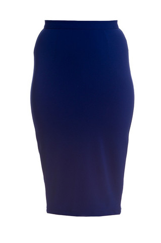 5324  Joni Pencil skirt, nvy