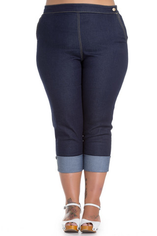 5374 Ronnie Denim, plus size