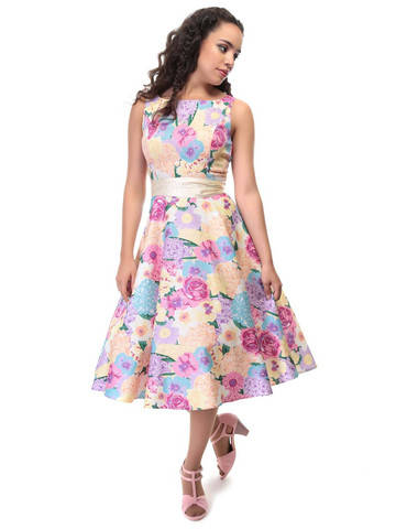 Margaret English Garden Swing dress
