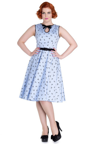 4605 Martina dress, blue