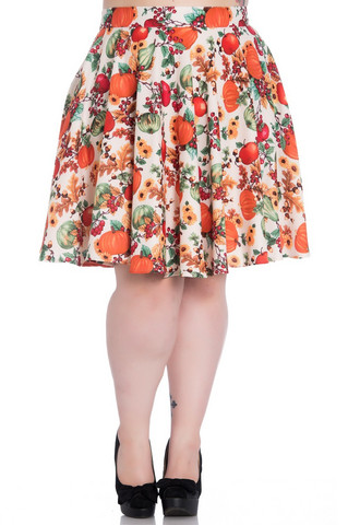 5445 Autumn skirt, plus size