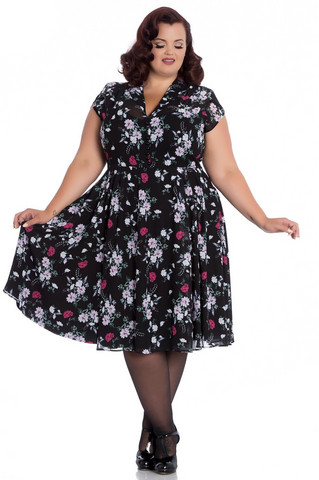4723 Belleville dress, plus size