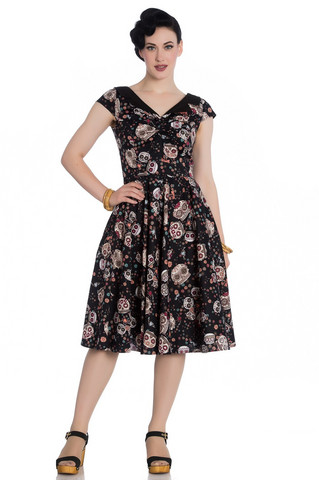 4776 Idaho 50`s dress, blk