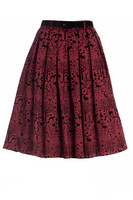 5446 Sherwood skirt, red - S, 2XL