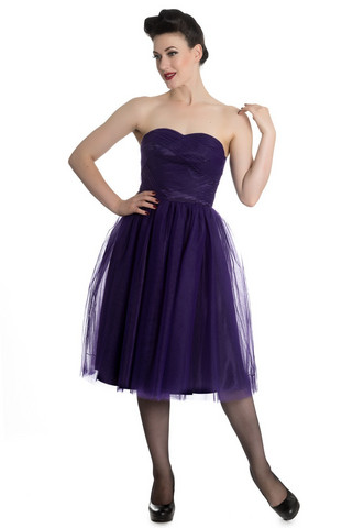 4504 Tamara dress, pur