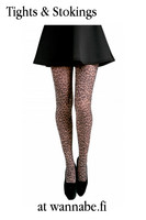Small Leopard printed tights