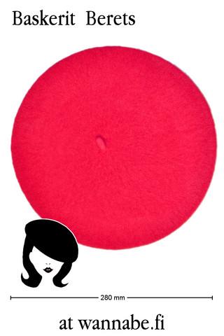 Baskeri, hot pink