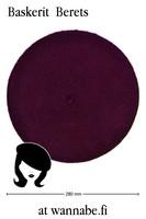 Beret, purple