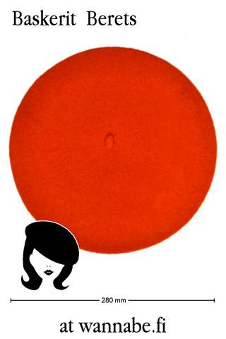Beret, orange
