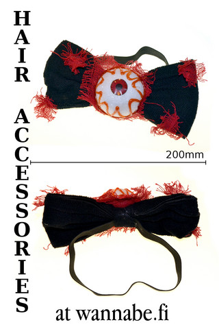 Headband with big eye and bow