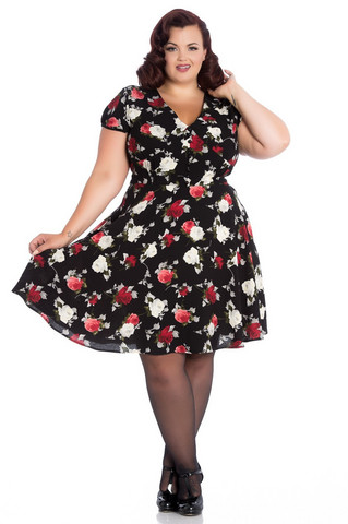4749 Valentina dress, plus size