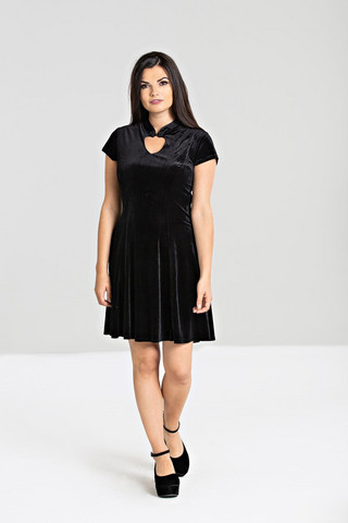 4740 Mika mini dress,blk