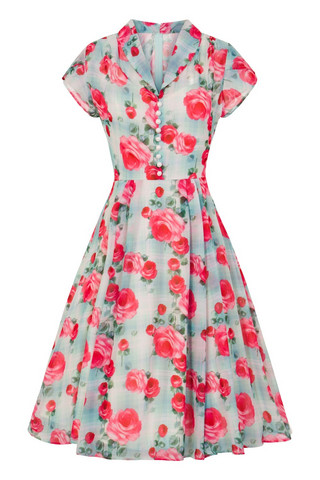 4785 HELL BUNNY SUZANNAH DRESS