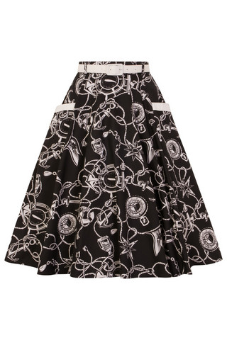 5475 HELL BUNNY MISTRAL 50´S SKIRT