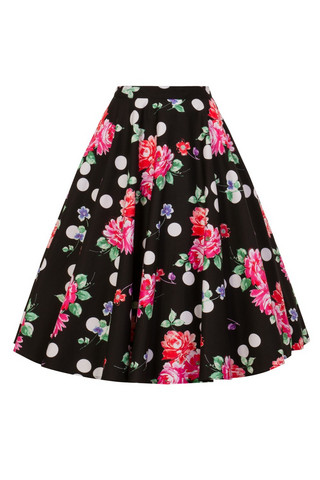 5478 COLLARETTE 50´S SKIRT