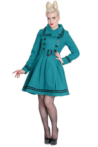8018 NEW MILLIE COAT, TEAL
