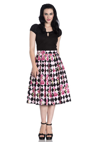 5487 Harlequin 50´s skirt